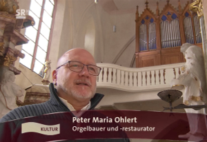 Unterwegs mit Peter Ohlert Orgelbauer
