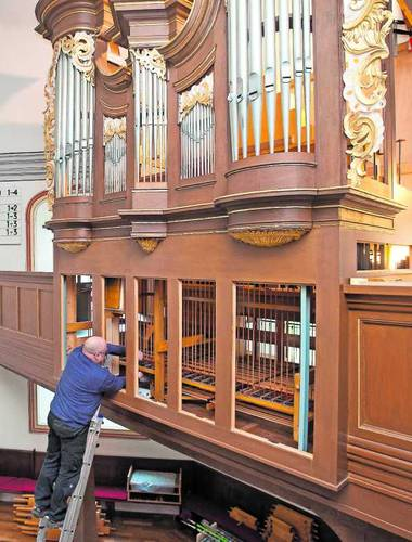Orgelbauer Peter Ohlert