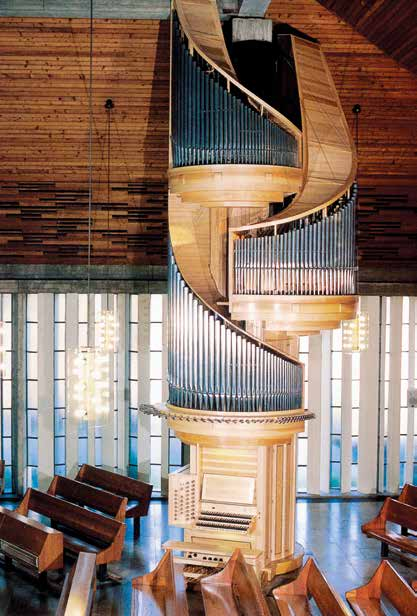 Orgel in der Christuskirche Speyer