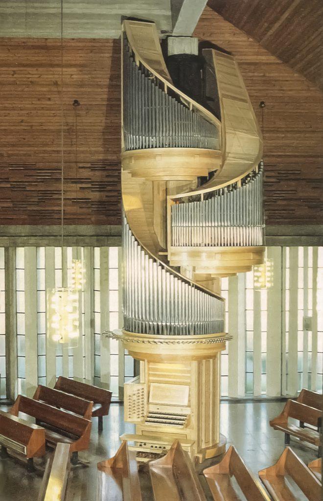 Die Orgel in der Christuskirche zu Speyer