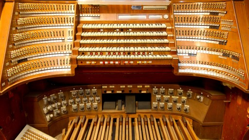 Unterwegs mit dem Orgelbauer Peter Ohlert